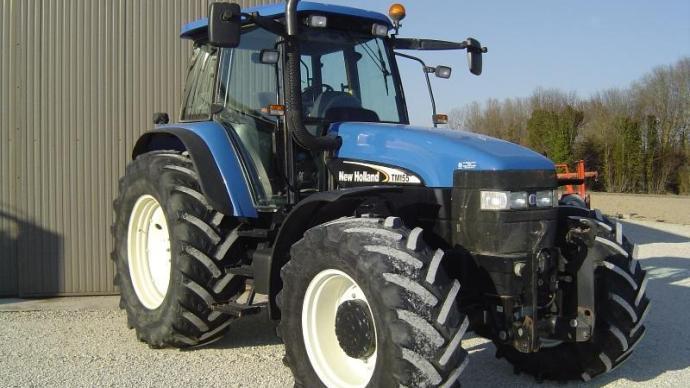 La cote agricole d'occasion tracteur - New Holland TM 155 Range Command