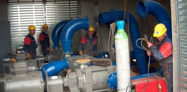 Montage station de 3 pompes
