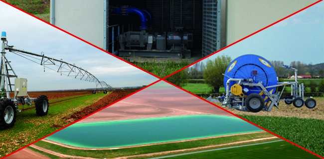 Service Irrigation, toute notre expertise pour vous garantir la bonne croissance de vos cultures