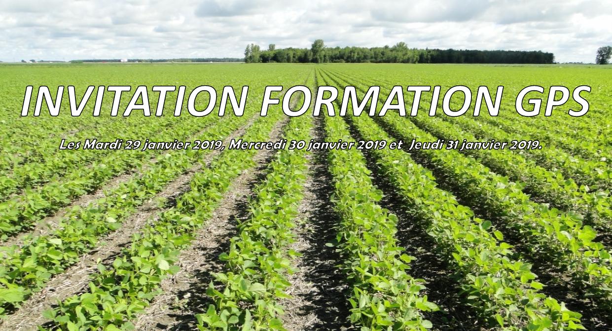 FORMATIONS AGRICULTURE DE PRECISION