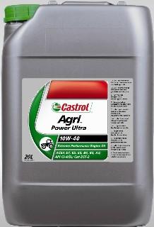 Castrol Agri Power Ultra 10w-40 Huile Synthétique pour moteur très haute performance API CI-4/SJ ACEA E7/E5/E3/B4/B3/A3 CAT ECF-2 DEUTZ DQC III-05