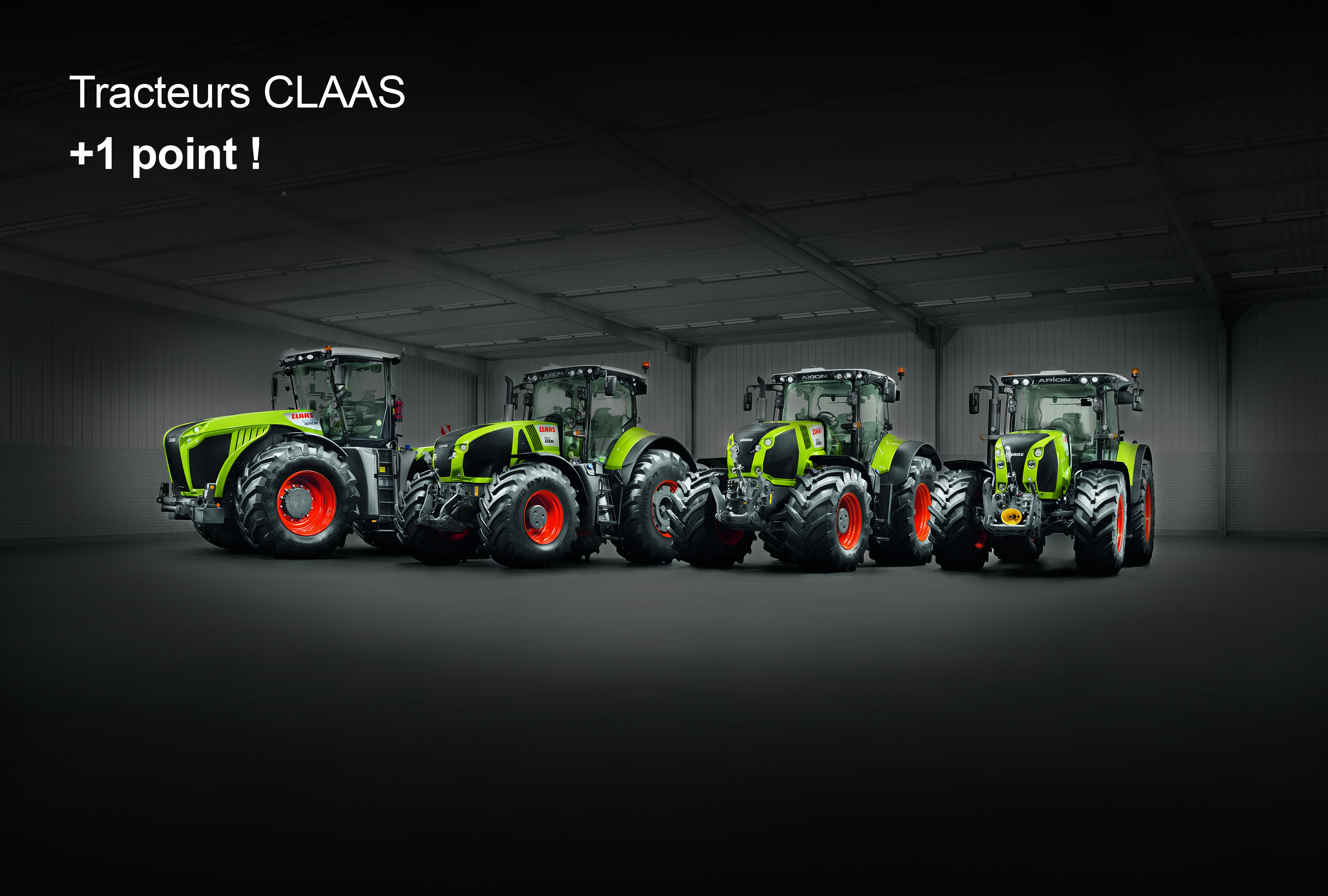 Nouvelle gamme tracteurs CLAAS