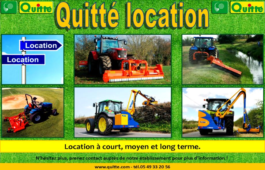 Les locations Quitté