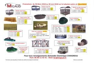 Nos PROMOTIONS du 30 MARS au 30 JUIN 2018 pour la rénovation et l'aménagement extérieur de vos bâtiments