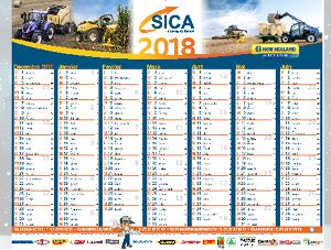 Les nouveaux calendriers sont arrivés à la SICA