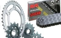 Kit de chaîne et pignons pour tout type de motos