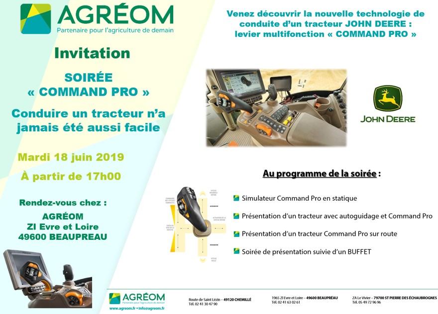 SOIREE PRESENTATION COMMAND PRO 18 JUIN 2019