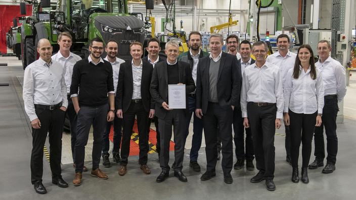 ACTUS FENDT : Le Forum économique mondial honore Fendt en tant que leader de l'industrie 4.0