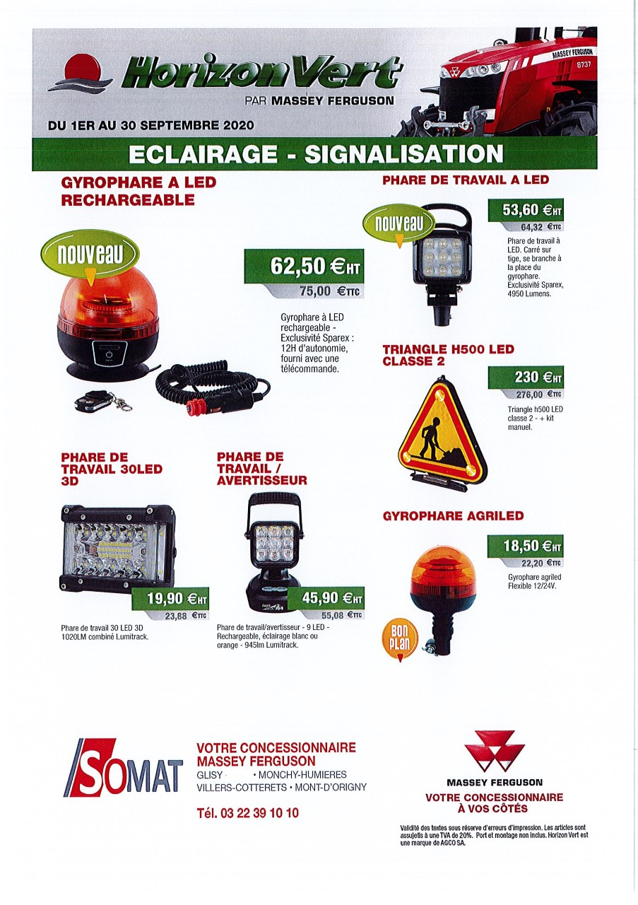 ECLAIRAGE ET SIGNALISATION
