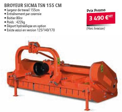 BROYEUR SICMA TSN 155 CM
