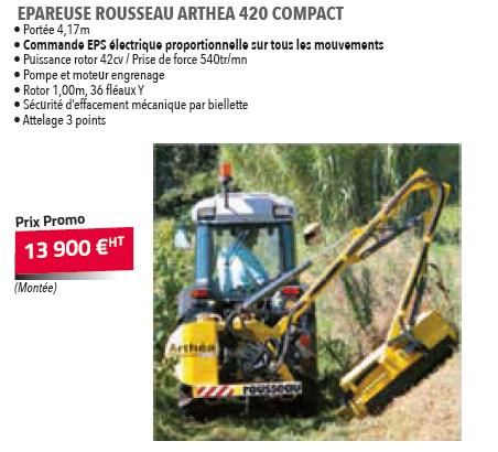 EPAREUSE ROUSSEAU ARTHENA 420 COMPACT